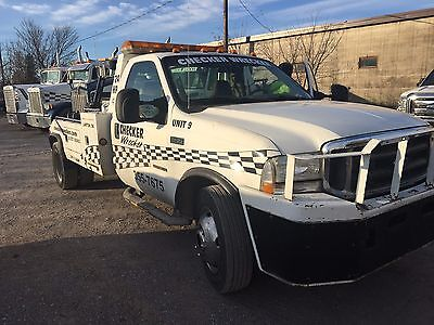 2002 Ford F450 Wrecker Tow Truck