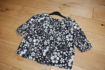 Girls Next Blouse Brown/White Age 7 Years