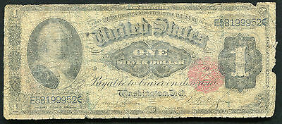 "Fr. 223 1891 $1 One Dollar ""Martha"" Silver Certificate Currency Note"