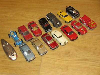 Small collection of Diecast cars - see list mostly matchbox