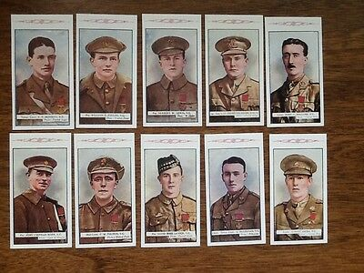 8TH SERIES...... VICTORIA CROSS HEROES....(Set of 25 cards)
