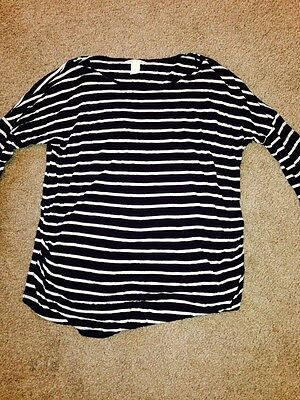 Maternity Top H&M Size Large