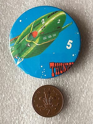 Thunderbird 2 Button Pin Badge (See Pictures)