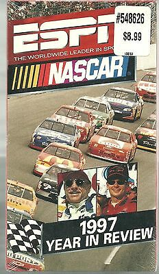 NASCAR 1997 YEAR IN REVIEW VCR new