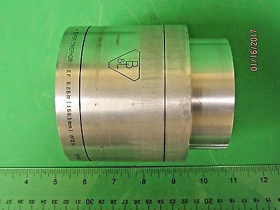 "Bausch & Lomb 6.25"" Super Cinephor F2.0 35/70mm Projector Lens 4"" Diameter"