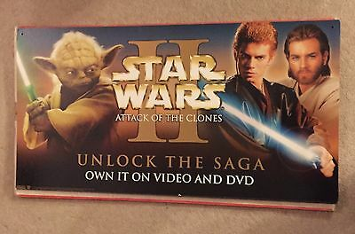 star wars attack of the clones Advertising Banner Set