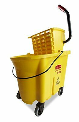Rubbermaid Commercial WaveBrake Mopping System Bucket and Side-Press Wring...NEW