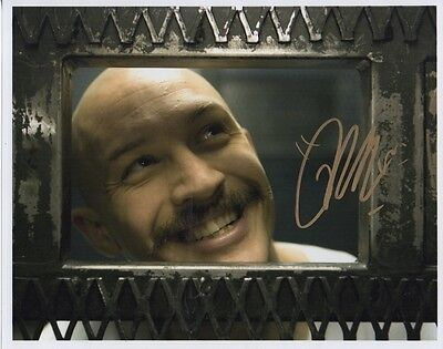 Tom Hardy Bronson  Authentic Hand Signed 10-8 Photo