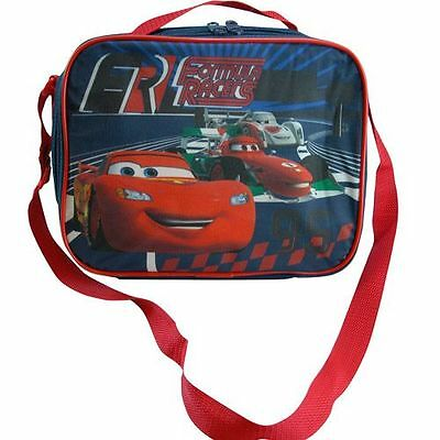 Disney Cars Formula Racers Insulated Lunch Bag with shoulder straps