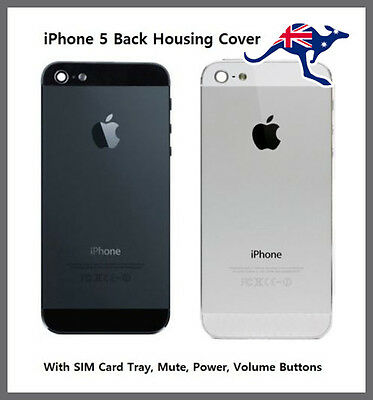 Rear Back Replacement Housing Battery Cover Case For Apple iPhone 5