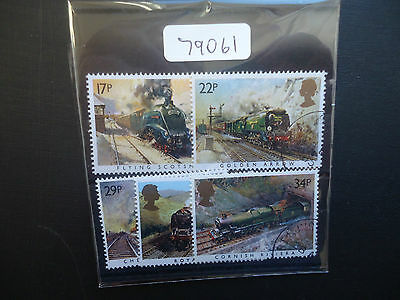 Great Britain 1985 Famous Trains (5v Set) (SG 1272-1276) CTO