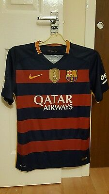 FC Barcelona Home Shirt 15/16 Medium