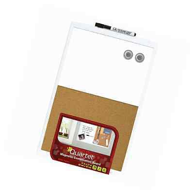 Quartet Dry-Erase Combination Board, Magnetic, 11 x 17 Inches White Frame