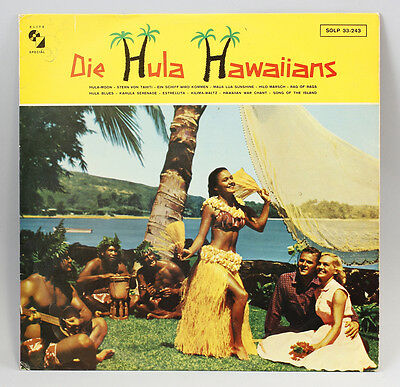 Vinyl LP Die Hula Hawaiians Debüt-Album 1962 Folk World Hawaii 9980484