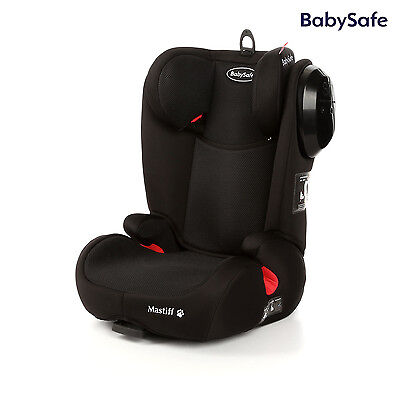 Babysafe Mastiff Black child seat Isofix (15-36kg) NEW!