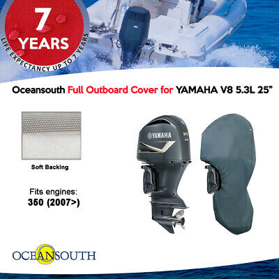 "Yamaha outboard storage full cover V8 5.3L F350 25"" leg"
