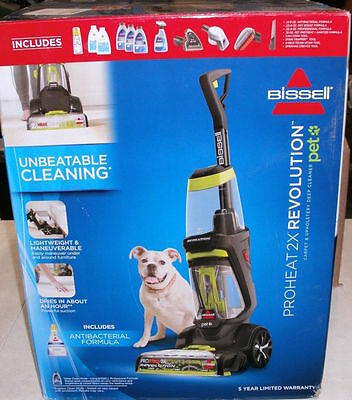 Bissell ProHeat 2X Revolution Pet Upholstery Carpet Deep Cleaner1548-P #2
