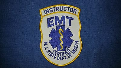 New Jersey EMT Instructor Patch
