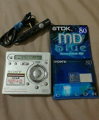 Sony Walkman MZ-R700 Personal MiniDisc Player/recorder.