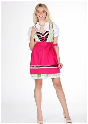 Bavarian,German,Trachten,Sommer,Fest,Oktoberfest,Dirndl Dress,3-pc.Sz.12,US