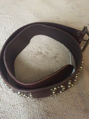 Von Dutch Leather Belt 32""