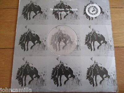 "The Utah Saints V The Osmonds - Crazy Horses - 12"" Record - Polydor - Horse 1"
