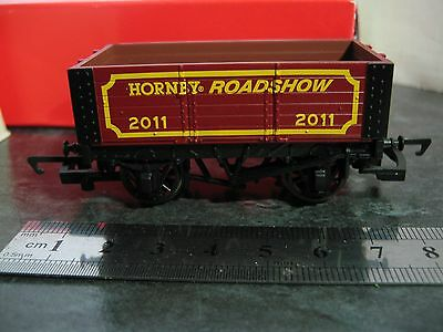 Hornby 00 Gauge 6 Plank Open Wagon R.6531 Hornby Roadshow 2011. (BOXED)