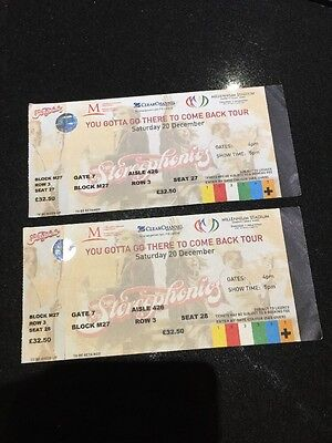 Unused STEREOPHONICS TICKETS for You Gotta Go There To Come Back