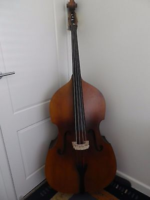 Upright 3/4 string double bass - as new