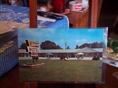 postcard, Bel – Aire Motel, Muskegon, Michigan