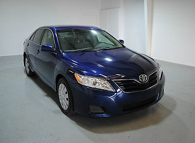 2010 Toyota Camry  2010 TOYOTA CAMRY 1.00 NO RESERVE LEATHER INTERIOR NO RUST TAMPA FLORIDA