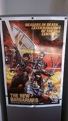 The New Barbarians original movie poster one sheet