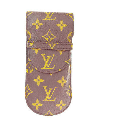Auth Louis Vuitton Etui a Lunettes Rabat Glasses Case Monogram M62970 BN 09R691