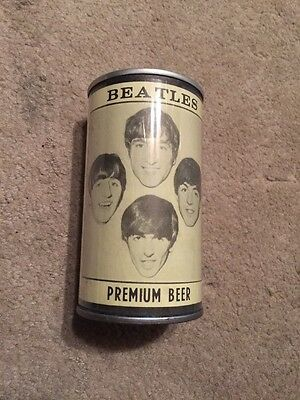 VINTAGE THE BEATLES 'HELP' BREWING CO. 1970's COLLECTOR'S YELLOW LABEL BEER CAN