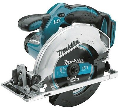 New Makita XSS02Z 18V LXT Lithium-Ion Cordless 6-1/2-inch Circular Saw Bare Tool