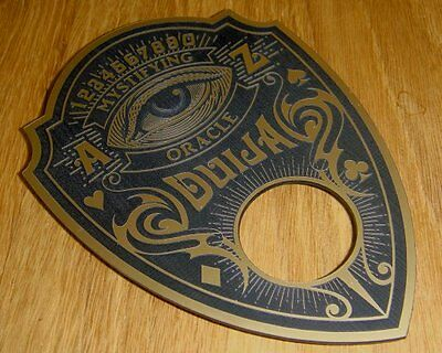 Custom Design Ouija Board Planchette Magic Spook Show Paranormal Voodoo Psychic
