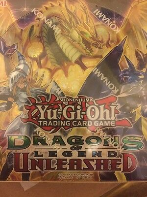 Yu-Gi-Oh! Dragons Of Legend Unleashed Booster Box DRL3 Factory Sealed