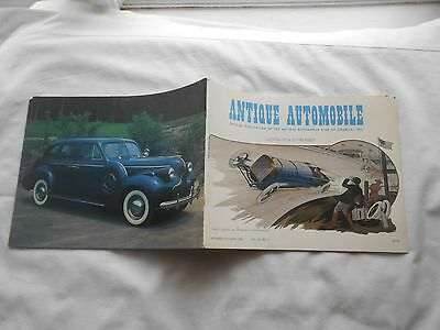 "ANTIQUE AUTOMOBILE Magazine-SEPTEMBER-OCT,1981-""GOUX'S 1913 VICTORIOUS PEUGEOT"""