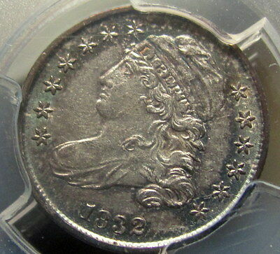 1832 Capped Bust Dime, Pcgs Au55, Original Surfaces