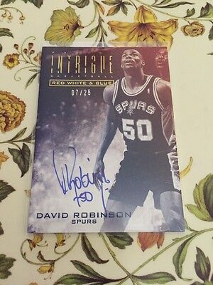 David Robinson red white and blue 07/25