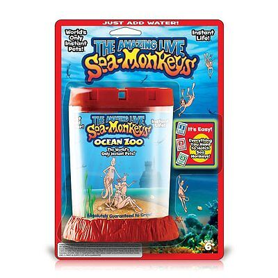 The Amazing Live Sea Monkeys Science Kit Includes Eggs, Purifier, and Food!
