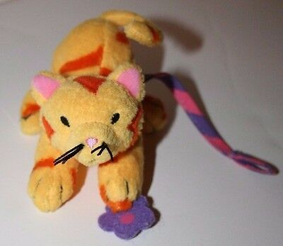 "Groovy Girls Plush 4""  Pet Cat With Collar & Leash"