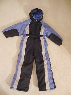 Girls Chill Stopper One Piece Snow Ski Suit - Size 7/8 - Snowmobile Suit