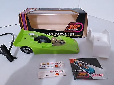 Vintage 1970s Kenner SSP Can Am Racer w Box
