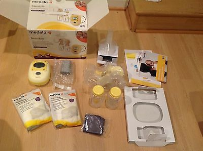 Medela Freestyle Double Electric Breastpump New Open Box 67065
