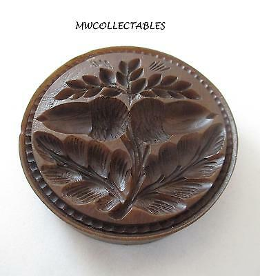 Springerle Speculaas Butter Cookie Paper Casting Stamp Press Mold  DOUBLE ACORNS