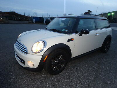 2011 Mini Clubman  NO RESERVE ALL POWER LEATHER PANORAMIC SUNROOF HEATED SEATS ROOF RACK LOW MILES