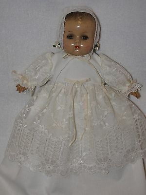 "11"" Vintage R&B / Arranbee Composition Baby Doll Dressed In Gown"