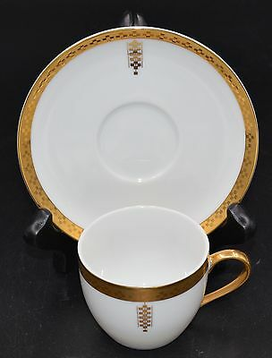 Tiffany & Co Frank Lloyd Wright Demitasse And Saucer Imperial Pattern