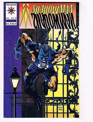 Lot Of 10 Shadowman Valiant Comic Books #10 11 12 13 14 15 16 17 18 19 VF/NM MS4